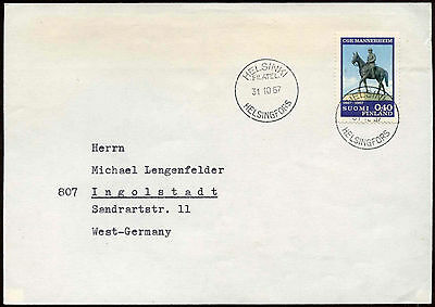 Finland 1967 Cover To Germany #C18587