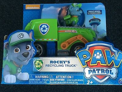 Paw Patrol Rocky's Recycling Truck New In Box