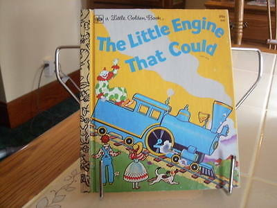The Little Engine That Could #548 WATTY PIPER Vintage Little Golden Book (1954)