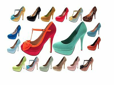 HALF PRICE SALE Womens Platforms Stiletto Heels Mary Jane Party Shoes High Heels