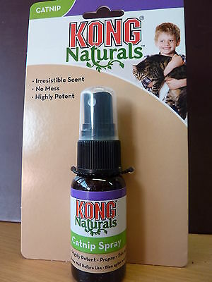 Kong Catnip Spray~ Refreshs Toys , Potent Maximum Fun
