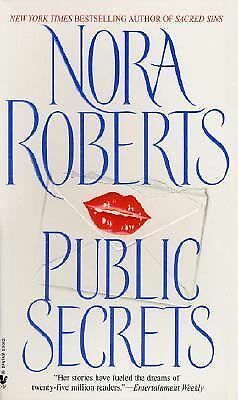 Public Secrets by Nora Roberts (1998, Paperback)