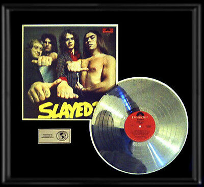 Slade Slayed Rare Lp Gold Record Platinum  Disc Album Frame