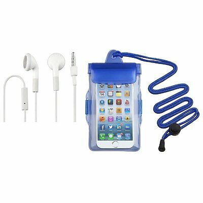 Beach Swim Bag Waterproof Armband Holder Case Cord+Headset For iPod Touch 8GB