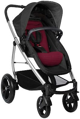 Phil&Teds Smart Lux Stroller in Ruby Color Brand New!! 21 Riding Positions!!