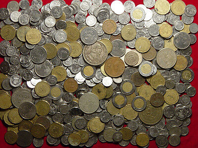 Lot Of 610 Mexican Coins - Mostly Modern - 17 Varieties - L@@K