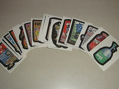 1991 Topps Wacky Packages Complete Sticker Card Set 55/55 NM-