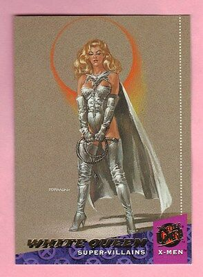 WHITE QUEEN 1994 Fleer Ultra Marvel Card 65 Dave Dorman Art X-Men Hellfire Club