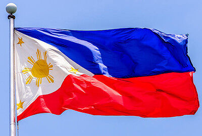 NEW 3x5 ft PHILIPPINES FILIPINO FLAG FLAGS