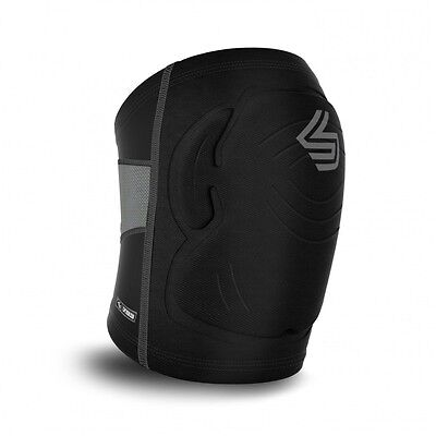 "Shock Doctor Knee Pad ""Ultra Shockskin"" Black Kickboxen, MMA, Muay Thai, Sport"