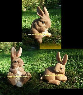 New Design Rubber Latex Mould Moulds Mold To Make Small Cute Rabbit 3 Designs