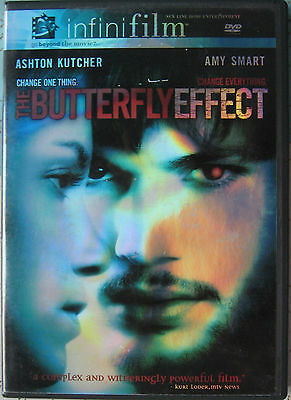 THE BUTTERFLY EFFECT DVD 2004 Infinifilm Theatrical Release & Director's Cut