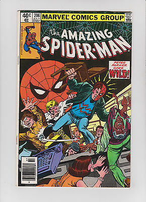 Marvel Amazing Spider-Man 206 ---  RARE KEY Comic book