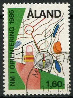 Aland Islands 1986 SG#20 Nordic Orienteering Used #A83871