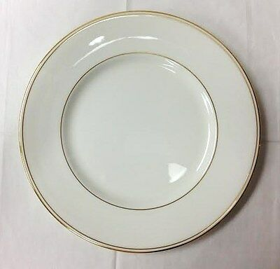 Lenox  federal Gold  Dinner Plate 10 7/8  White Bone China Made & LENOX OXFORD WHITE Echo - Bone China Dinner Plate(s) Made In USA ...