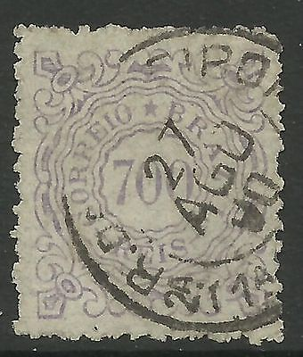 BRAZIL. 1888. 700 Ries Lilac Numeral. SG: 86. Fine Used.