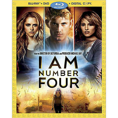I Am Number Four 3-Disc BLU-RAY Combo Pack