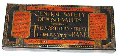 1920's Chicago The Rookery Northern Trust Bank Safety Deposit Box Vaults Lasalle