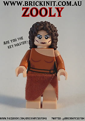 Lego Ghostbusters custom inspired Zuul minifigure minifig Zooly