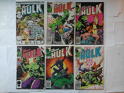 MARVEL LOT OF THE INCREDIBLE HULK COMIC BOOKS NO RESERVE LOOK!