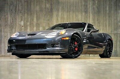 Chevrolet : Corvette Z06 w/2LZ 2009 chevrolet corvette z 06 1 owner 2 lz two tone leather black spider whls