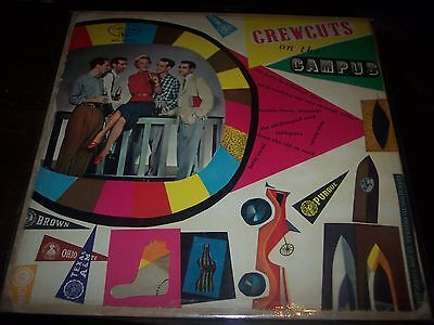 """## THE CREW CUTS - ON THE CAMPUS 10"""" LP POP VOCAL 1956"""