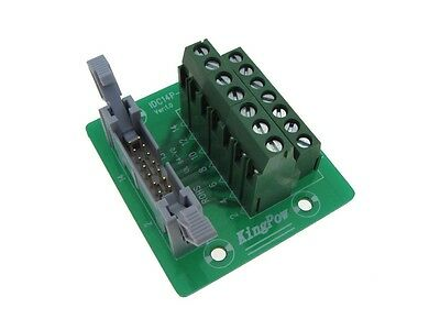 IDC60 60-Pin Shrouded Connector Signals Breakout Board Screw terminals GP