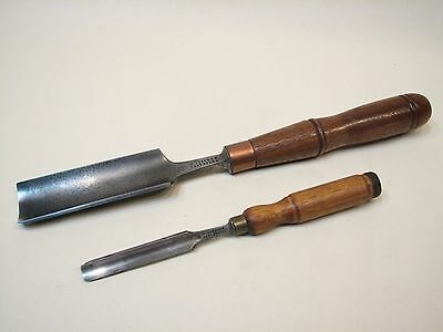 Two William Butcher Gouges (early to mid 1800's) - No Reserve