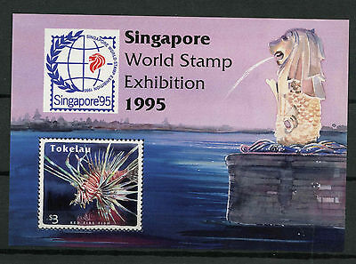 Tokelau 1995 SG#MS228 Reef Fishes MNH M/S #A78758
