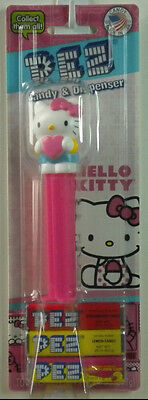 PEZ Hello Kitty Full Body w/ Pink Bow Candy Dispenser New On Card (B)