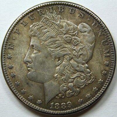 1889 P Morgan Silver Dollar US Mint Coin 11284