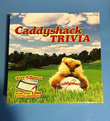 Caddyshack Movie Game ~ Tee Off At Bushwood EUC Pieces In Original Packaging