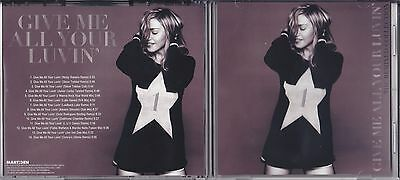 MADONNA - GIVE ME ALL YOUR LUVIN' PROMO REMIX CD VOL. 1