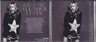 MADONNA - GIVE ME ALL YOUR LUVIN' PROMO REMIX CD VOL. 2