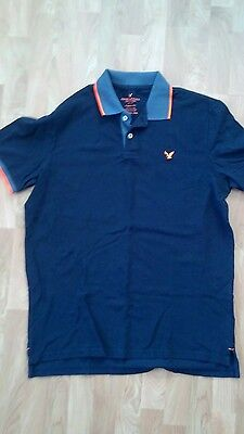 Mens american eagle size XLT classic fit polo shirt nwt
