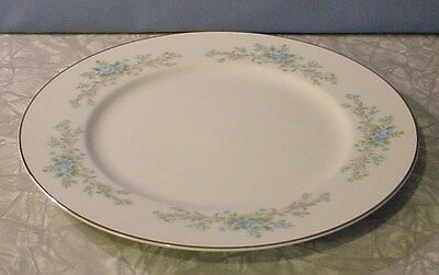 "EXC! 1960s ROYAL COURT FINE CHINA BLUE FANTASY 10 5/8"" DINNER PLATE"