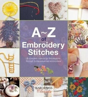 A-Z of Embroidery Stitches by Country Bumpkin Publications Paperback Book (Engli