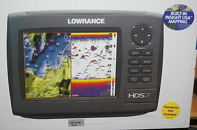 lowrance hds-7 gen2  insight USA int gps antenna hardware included no transducer