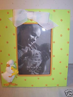 Demdaco Duck & Baby Picture Frame NEW 4 x 6