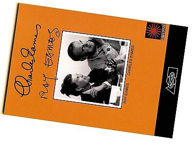 Charles & Ray Eames Counter Card – Mid-Century Icon Chair Designers