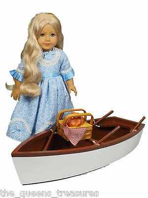 "The Queen's Treasures ROWBOAT SKIFF Fits Two 18"" American Girl Doll Accessories"