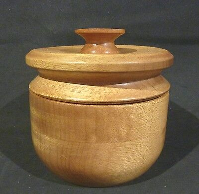 White Cedar ? Camphor Laurel ?   Bowl &   Lid