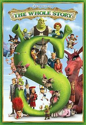 Shrek: The Whole Story (DVD, 2010, 5-Disc Set)