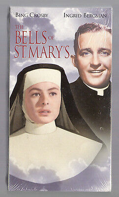 NEW VHS! THE BELLS OF ST MARY'S Color Bing Crosby Ingrid Bergman Ruth Donnelly