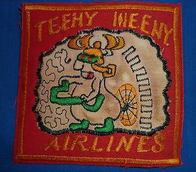 NEWSPAPER CIA PATCH - V.504 - 3rd RRU - TEENY WEENY AIRLINES - Vietnam War - ASA