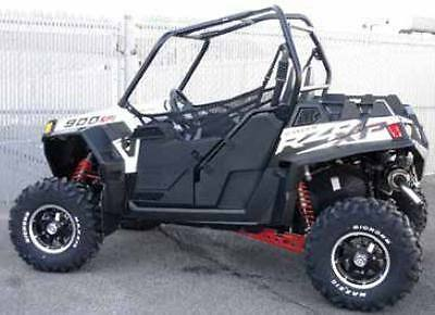 New Utv Polaris Rzr Half Door Kit 570 800 900 Xp Black Finish Doors