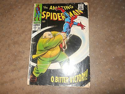 Amazing Spider-man #60 May 1968 Silver Age Marvel Comic