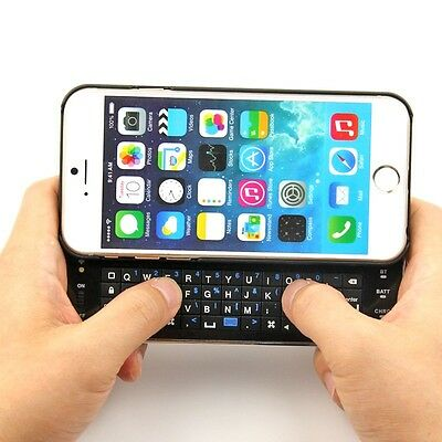 Ultra Slim Bluetooth Wireless Mini Keyboard with Case Cover for 4.7'' iPhone 6