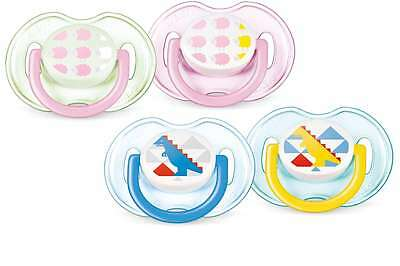 Philips AVENT SCF172/18 BPA-Free  Soothers (0-6 Months) (Set of 2) DINO & SHEEP