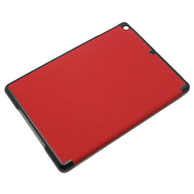 Red Smart PU Leather Magnetic Folio Stand Case Cover for Apple iPad Air 5th #